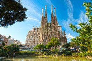 Храм Святого семейства Барселона фото