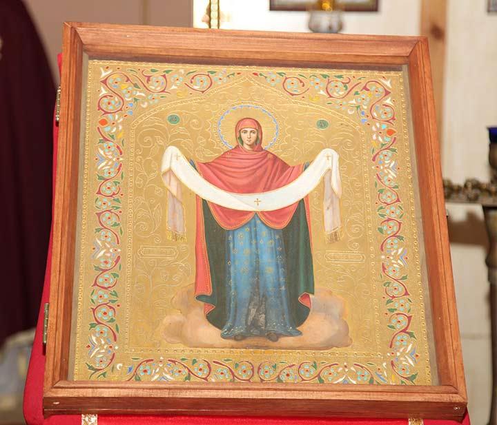 Икона Покрова Святой Богородицы