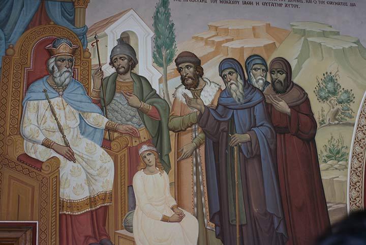 Император Алексей Комнин на картине