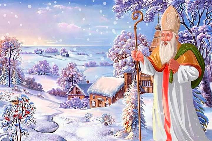 Заморозки и Святой Николай