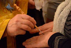 Помазание в католической церкви